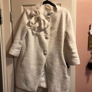 Kate space tweed coat. Size 6